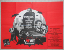 Love at First Bite, UK Quad Poster, George Hamilton is Dracula!, '79